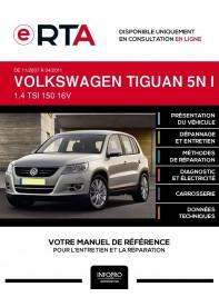E-RTA Volkswagen Tiguan I BREAK 5 portes de 11/2007 à 04/2011