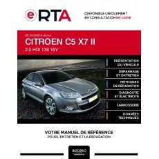 E-RTA Citroen C5 II BERLINE 4 portes de 04/2008 à ce jour