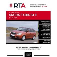 E-RTA Skoda Fabia II BREAK 5 portes de 01/2008 à 03/2010