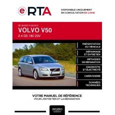 E-RTA Volvo V50 BREAK 5 portes de 06/2007 à 03/2012