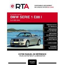 E-RTA Bmw Serie 1 I CABRIOLET 2 portes de 03/2008 à 06/2013