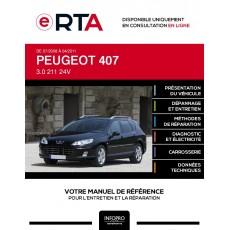 E-RTA Peugeot 407 BREAK 5 portes de 07/2008 à 04/2011