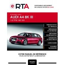 E-RTA Audi A4 III BREAK 5 portes de 05/2008 à 10/2011