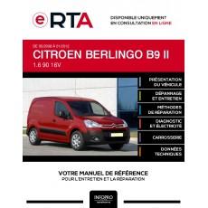 E-RTA Citroen Berlingo II FOURGON 3 portes de 05/2008 à 01/2012