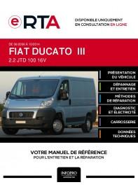 E-RTA Fiat Ducato III FOURGON 4 portes de 06/2006 à 10/2014