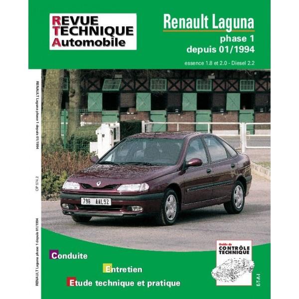 Revue Technique Renault laguna phase 1
