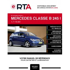 E-RTA Mercedes Classe b I MONOSPACE 5 portes de 04/2008 à 09/2011