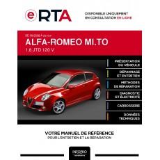 E-RTA Alfa-romeo Mi.to HAYON 3 portes de 09/2008 à ce jour