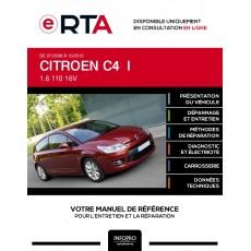 E-RTA Citroen C4 I HAYON 3 portes de 07/2008 à 10/2010