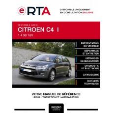 E-RTA Citroen C4 I HAYON 5 portes de 07/2008 à 10/2010