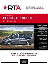 E-RTA Peugeot Expert II COMBI 5 portes de 01/2007 à ce jour