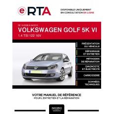 E-RTA Volkswagen Golf VI HAYON 5 portes de 10/2008 à 04/2013