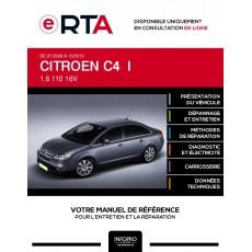 E-RTA Citroen C4 I BERLINE 4 portes de 07/2008 à 10/2010