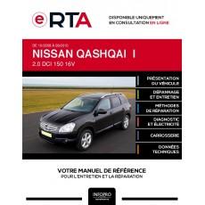 E-RTA Nissan Qashqai I BREAK 5 portes de 10/2008 à 09/2010