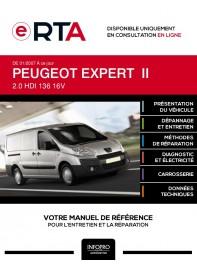 E-RTA Peugeot Expert II FOURGON 4 portes de 01/2007 à ce jour