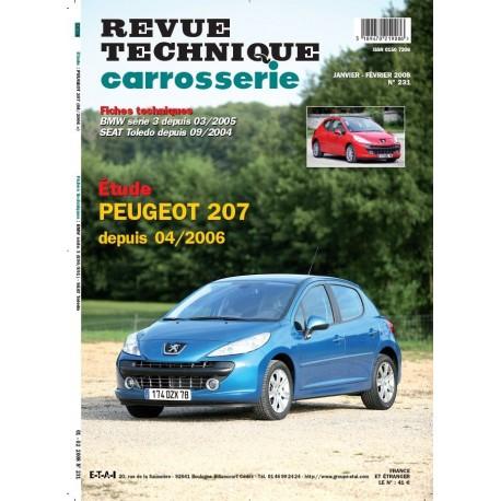 RTC PEUGEOT 207 DEPUIS 04/06