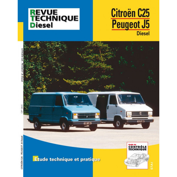 Revue Technique Citroen c 25