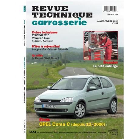 RTC OPEL CORSA C DEPUIS 10/2000