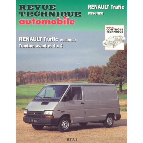 revue technique renault trafic e rta site officiel etai. Black Bedroom Furniture Sets. Home Design Ideas