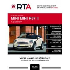 E-RTA Mini Mini II CABRIOLET 2 portes de 03/2009 à 12/2010