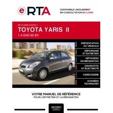 E-RTA Toyota Yaris II HAYON 5 portes de 01/2009 à 05/2011