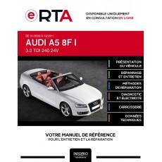 E-RTA Audi A5 I CABRIOLET 2 portes de 01/2009 à 12/2011