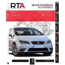 RTA Hors série  22 SEAT LEON III (5F) PHASE 1 (2012 à 2016)