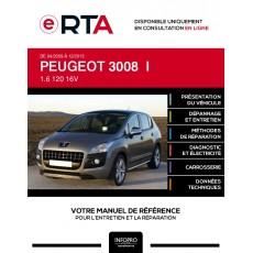 E-RTA Peugeot 3008 I BREAK 5 portes de 04/2009 à 12/2013