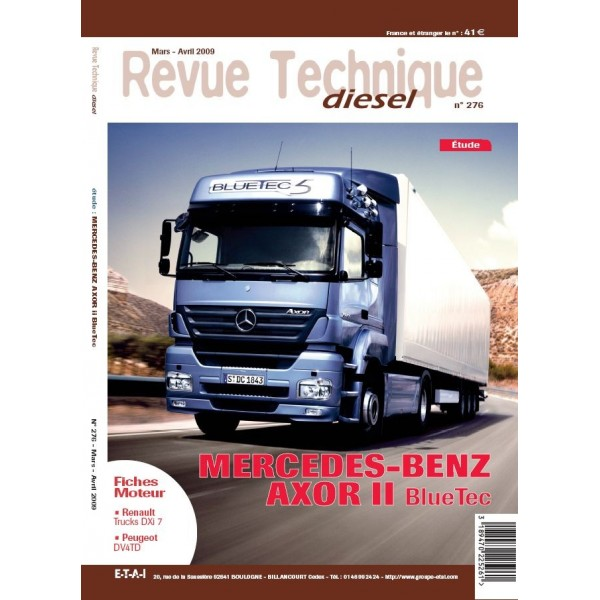 RTD MERCEDES-BENZ AXOR NEW