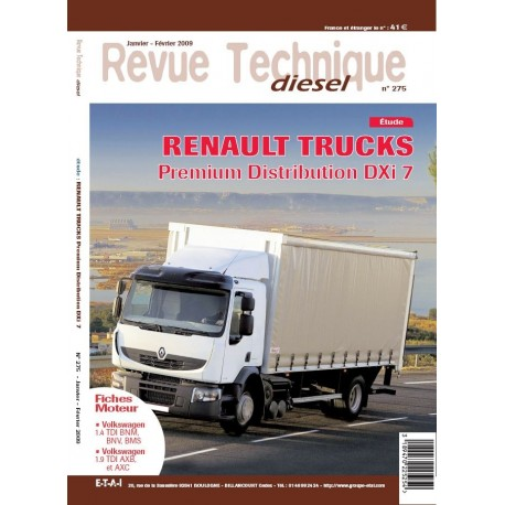 RTD RENAULT TRUCKS PREMIUM DISTRIBUTION DXI 7