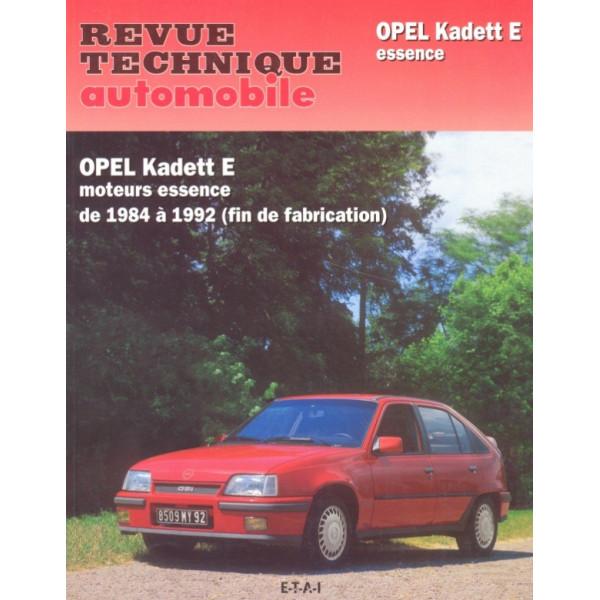 Revue Technique Opel kadett e