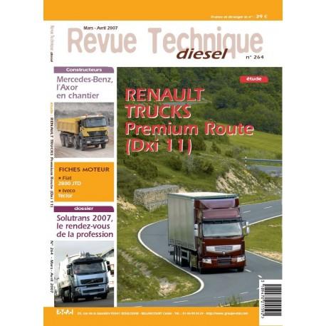 Revue Technique Diesel ETAI- RENAULT PREMIUM DXI 11 - Véhicules