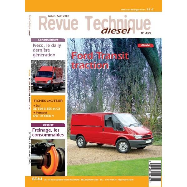 revue technique diesel etai ford transit traction v hicules industriels et utilitaires l gers. Black Bedroom Furniture Sets. Home Design Ideas