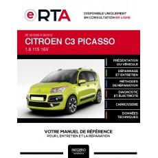 E-RTA Citroen C3 picasso MONOSPACE 5 portes de 02/2009 à 08/2012