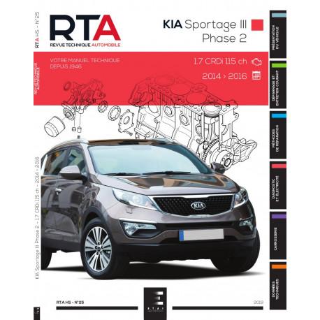 RTA HS25 KIA SPORTAGE III Phase 2 (2014 à 2016)
