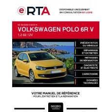 E-RTA Volkswagen Polo V HAYON 5 portes de 09/2009 à 05/2014