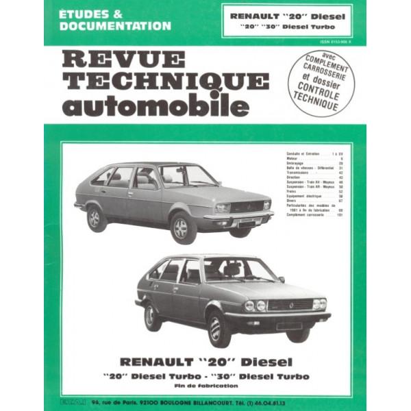 Revue Technique Renault 20