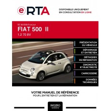 E-RTA Fiat 500 II CABRIOLET 2 portes de 06/2009 à ce jour