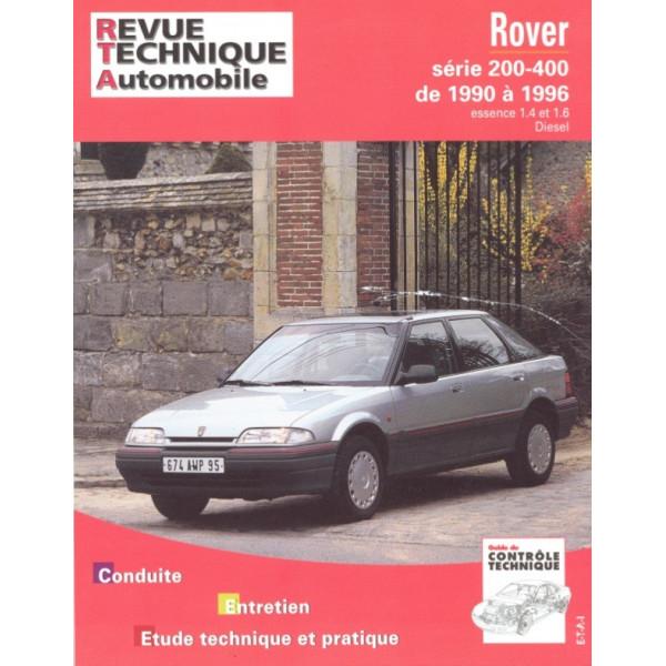 Revue Technique Rover 200 et 400
