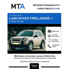 MTA Land rover Freelander I BREAK 5 portes de 11/2003 à 12/2006