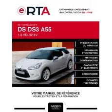 E-RTA Ds Ds3 HAYON 3 portes de 11/2009 à 03/2014