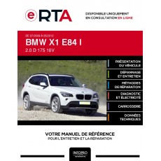 E-RTA Bmw X1 I BREAK 5 portes de 07/2009 à 05/2012