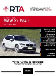 E-RTA Bmw X1 I BREAK 5 portes de 07/2009 à 05/2012