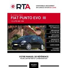 E-RTA Fiat Punto evo III HAYON 3 portes de 10/2009 à 12/2013
