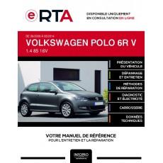 E-RTA Volkswagen Polo V HAYON 3 portes de 09/2009 à 05/2014