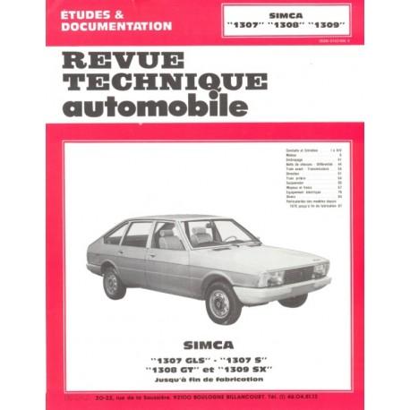 Arrêt RTA 355.3 TALBOT SIMCA 1301/1307/1308/1309 (1970 à 1979)