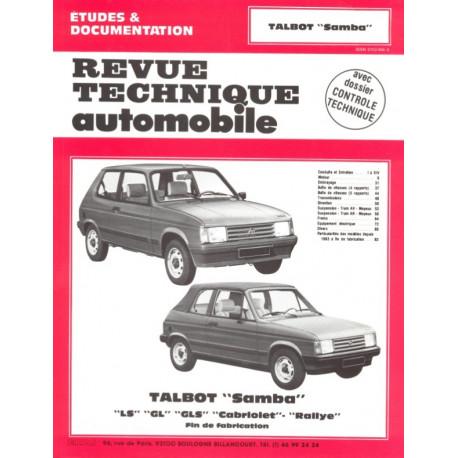 RTA 422.4 TALBOT SAMBA (1982 à 1986)
