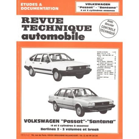 Arrêt RTA 457.1 VOLKSWAGEN PASSAT II (1979 à 1988)