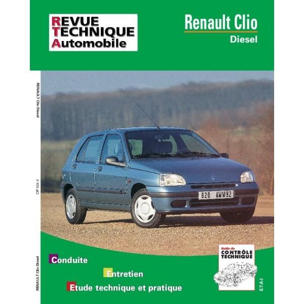 Revue Technique Renault clio 1 diesel