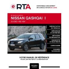 E-RTA Nissan Qashqai I BREAK 5 portes de 03/2010 à 04/2014